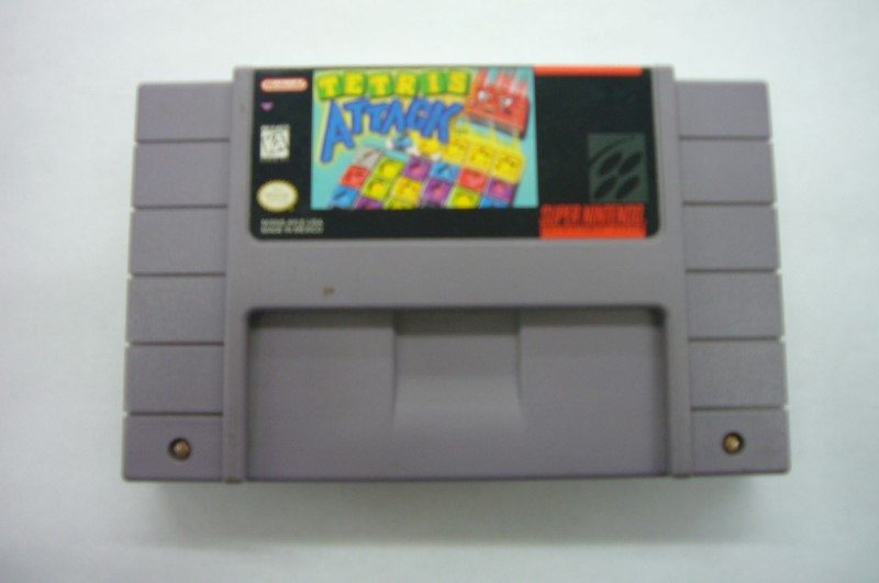 "SNES TETRIS ATTACK ""GAME ONLY"""