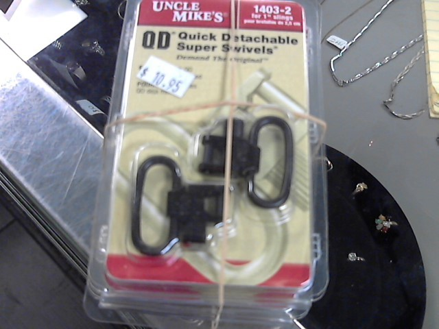 UNCLE MIKES QUICK DETACHABLE SUPER SWIVELS