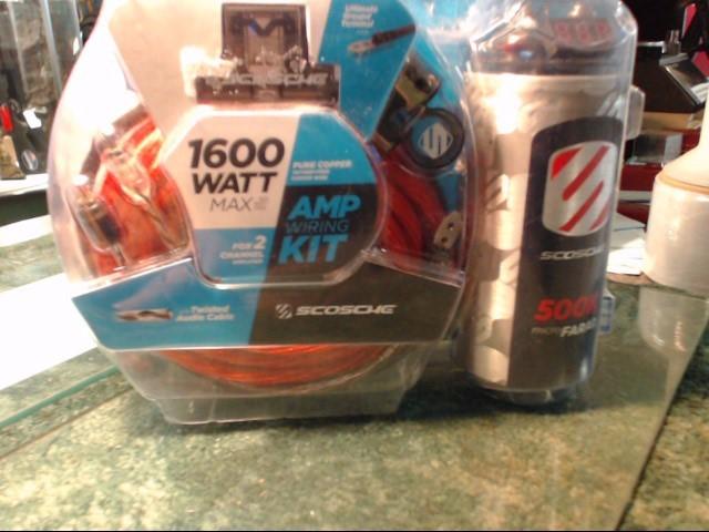 SCOSCHE 1600 WATT AMP KIT