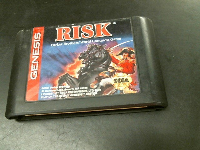 SEGA Sega Game GENESIS RISK