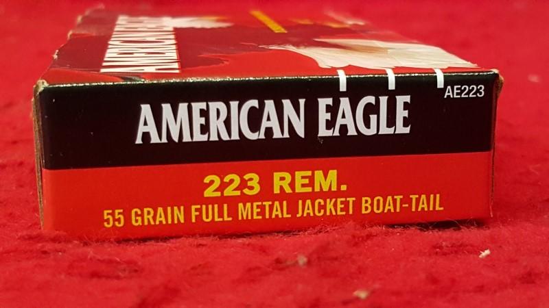 AMERICAN EAGLE AMMUNITION .223 REM 55gr