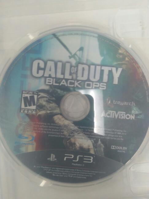 CALL OF DUTY BLACK OPS PS3 DISC ONLY