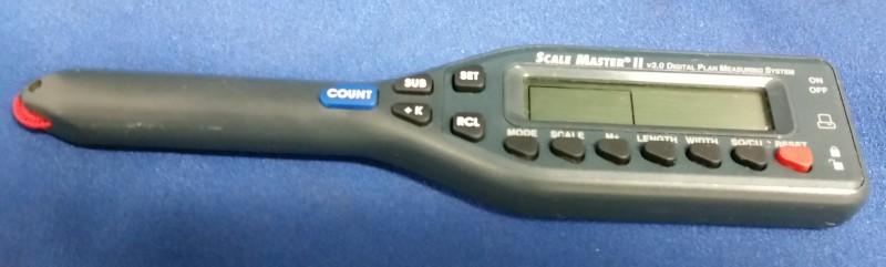 SCALE MASTER II V3.0 DIGITAL PLAIN MEASURING SYSTEM 6130