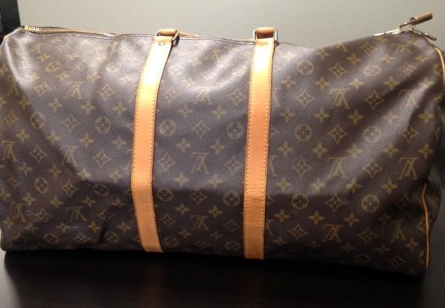 LOUIS VUITTON Handbag MONOGRAM KEEPALL 55 BANDOULIERE