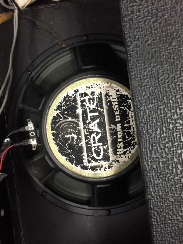 CRATE XT65R GUITAR AMPLIFIER AS-IS NEEDS REPAIR NO POWER PARTS