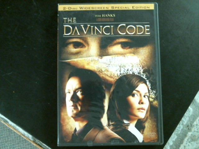 DVD MOVIE DVD THE DA VINCI CODE