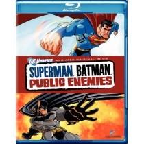 BLU-RAY MOVIE Blu-Ray SUPERMAN BATMAN PUBLIC ENEMIES