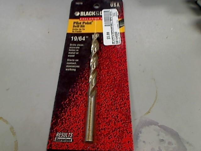 BLACK & DECKER Drill Bits/Blades 14319