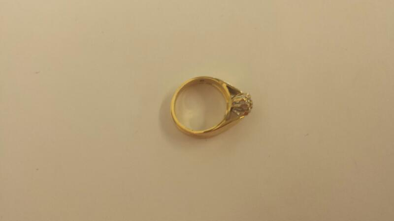 Lady's Diamond Wedding Band 20 Diamonds .31 Carat T.W. 10K Yellow Gold 3dwt
