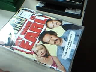 DVD BOX SET DVD MY NAME IS EARL SEASON 3