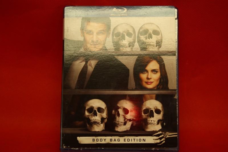 Bones: Season 4 [Blu-ray] Body Bag Edition New in Shrink Wrap