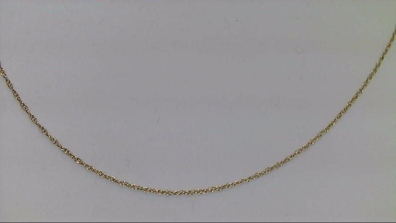 Gold Fine Chain 14K Yellow Gold 0.62g