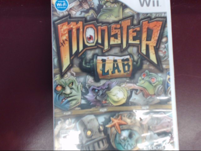 NINTENDO WII MONSTER LAB WII
