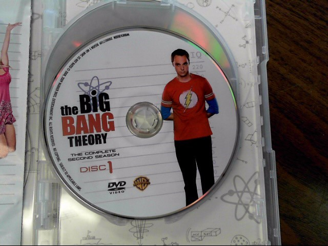 DVD BOX SET DVD THE BIG BANG THEORY SEASON 2