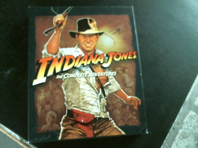 BLU-RAY MOVIE Blu-Ray INDIANA JONES THE COMPLETE ADVENTURE COLLECTION
