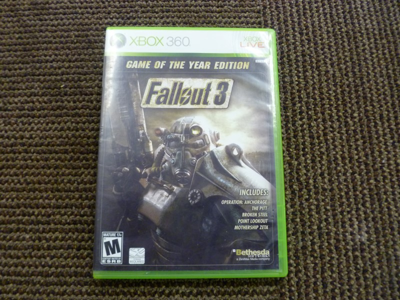 XBOX 360 FALLOUT 3 GOTY EDITION