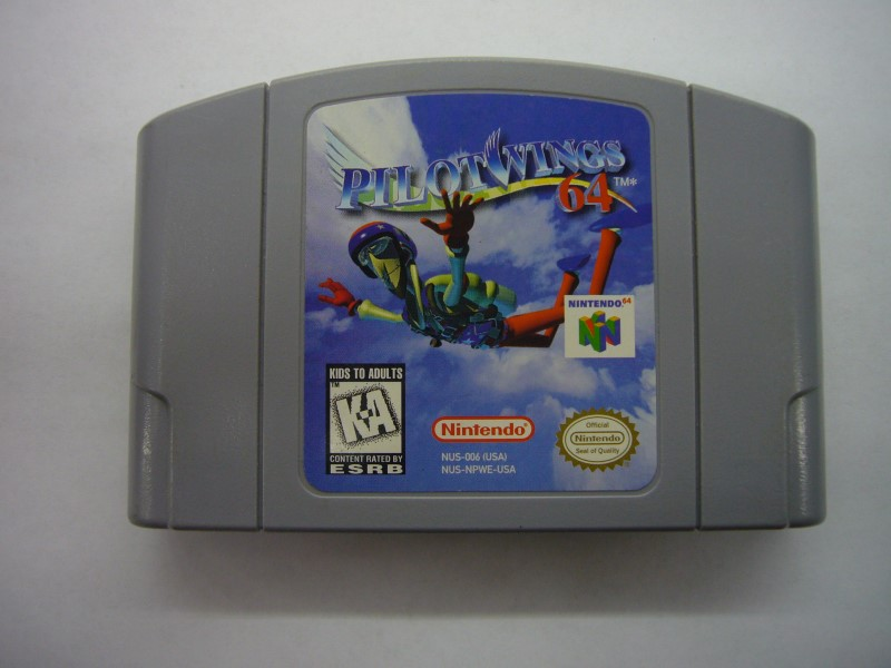 NINTENDO 64 Game PILOTWINGS 64 *CARTRIDGE ONLY*