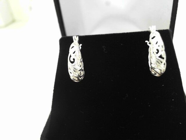 Silver Earrings 925 Silver 1.59dwt