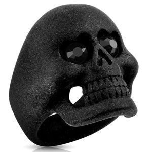 Gent's Ring Black Stainless 18.03dwt