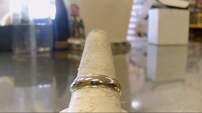 Gent's Gold Wedding Band 14K White Gold 5.8g