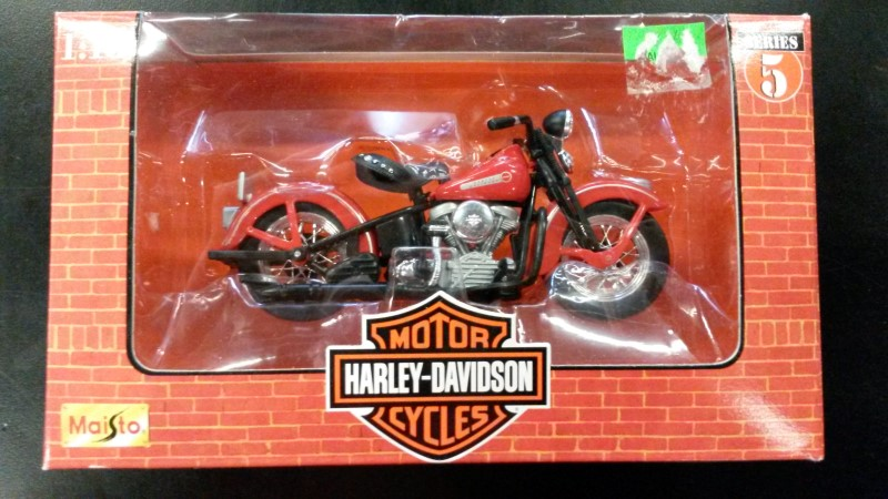 HOT WHEELS Miscellaneous Toy HARLEY