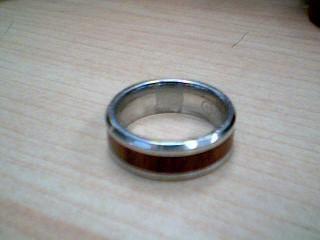 Gent's Ring Silver Titanium 7.8g