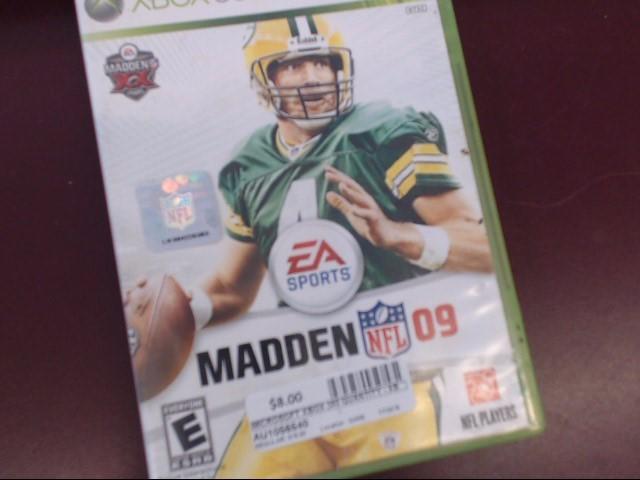 XBOX 360 MADDEN 09 NFL