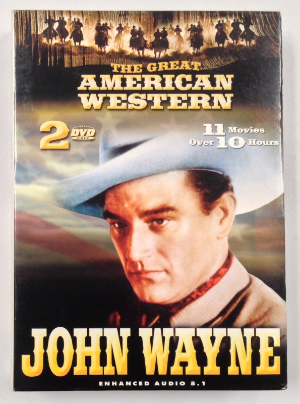 THE GREAT AMERICAN WESTERN - JOHN WAYNE - 11 MOVIES