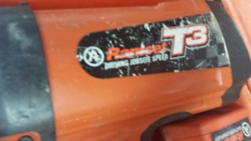 Ramset T3 Gas Powered Drywall Nail Gun