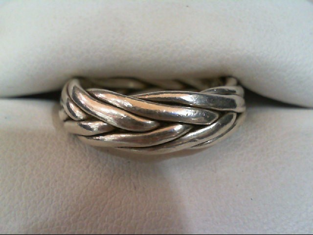 Gent's Silver Wedding Band 925 Silver 8.8g