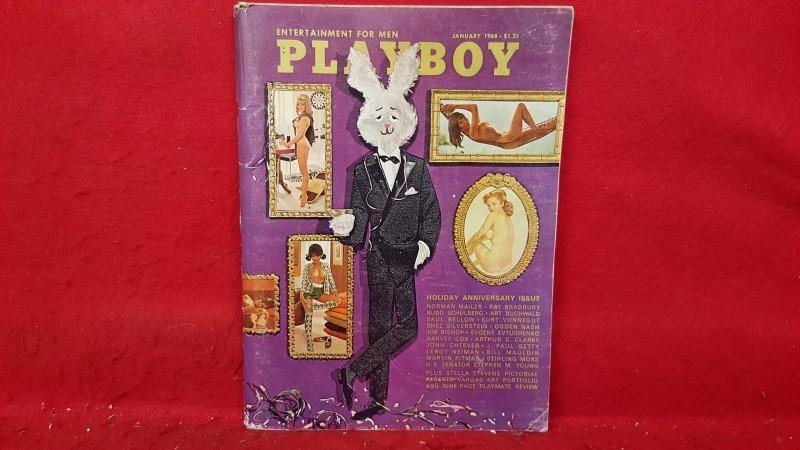 PLAYBOY Magazine JANUARY 1968