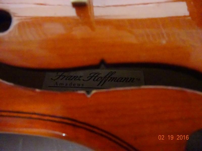 FRANZ HOFFMANN Violin AMADEUS