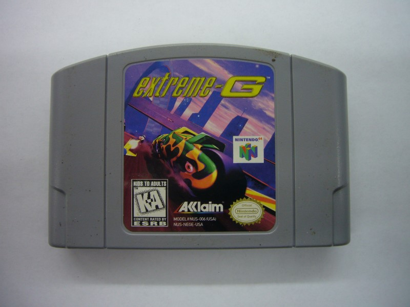 NINTENDO 64 Game EXTREME-G *CARTRIDGE ONLY*