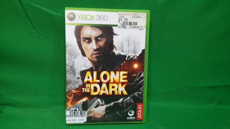 MICROSOFT Microsoft XBOX 360 Game ALONE IN THE DARK 360
