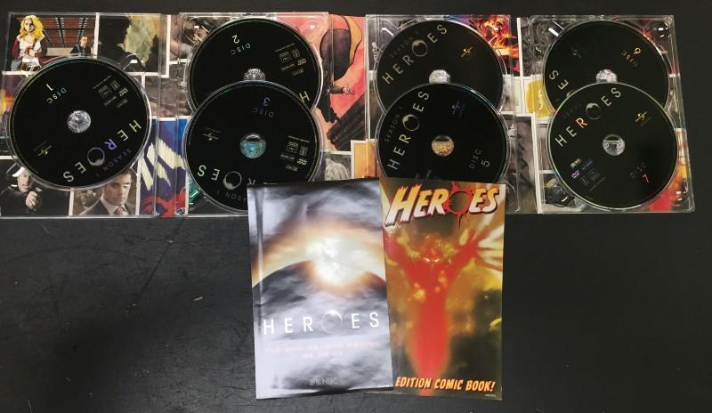 DVD BOX SET DVD HEROES SEASON 1