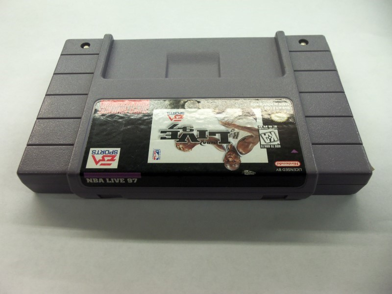 "SNES NBA LIVE 97 ""GAME ONLY"""