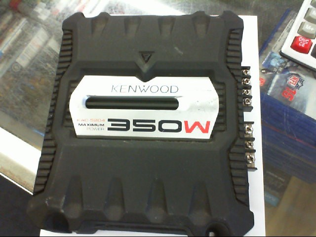 KENWOOD Car Amplifier KAC-5204
