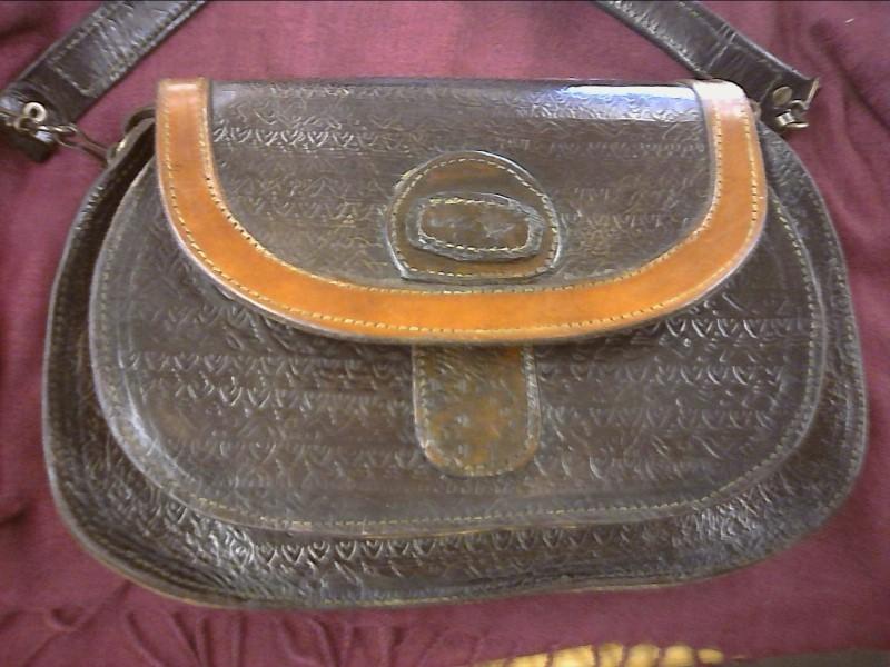Handbag HOMEMADE LEATHER PURSE LEATHER PURSE