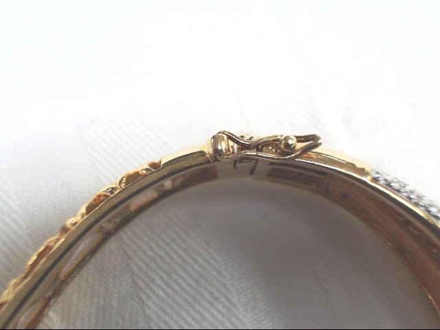 Synthetic Ruby Silver-Stone Bangle Bracelet 925 Silver 27.6g