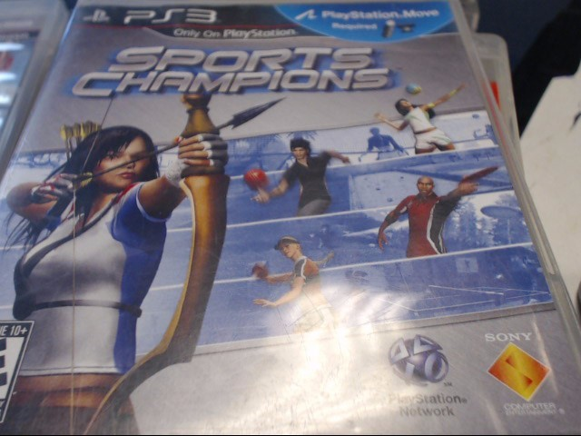 SONY PS3 SPORTS OF CHAMPIONS