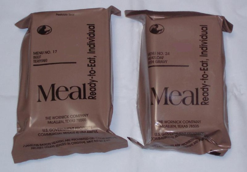 MRE WITH HEATER