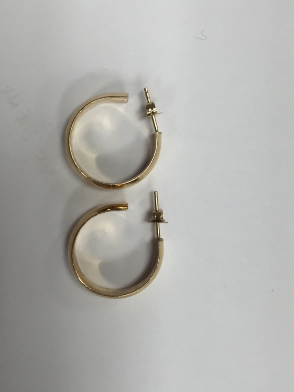 Gold Earrings 14K Yellow Gold 5.2g