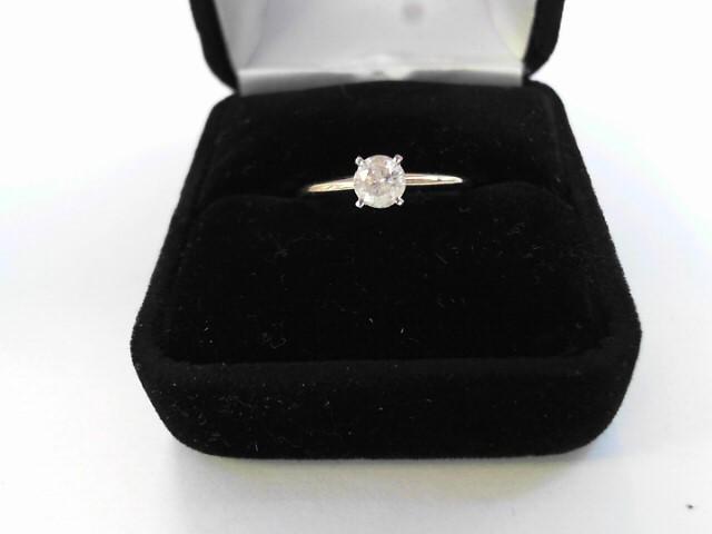 Lady's Diamond Engagement Ring .53 CT. 14K Yellow Gold 1.1dwt