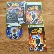 XBOX360 DESTROY ALL HUMANS