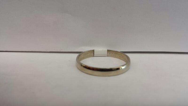 10k White Gold Band