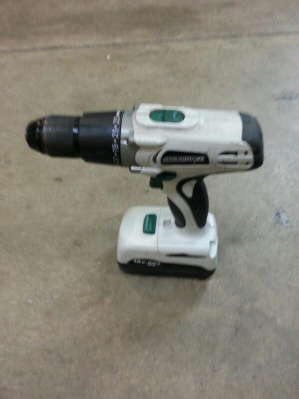 MASTER FORCE Cordless Drill 241-0400
