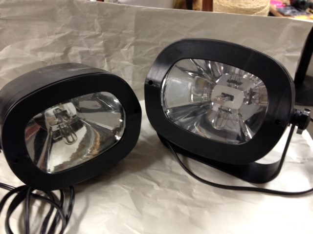 STROBE LIGHTS SET OF 2