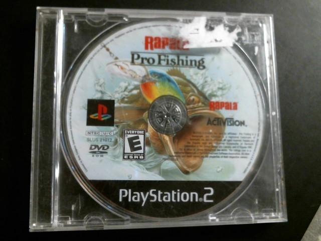 SONY Sony PlayStation 2 Game PS2 RAPALA PRO FISHING