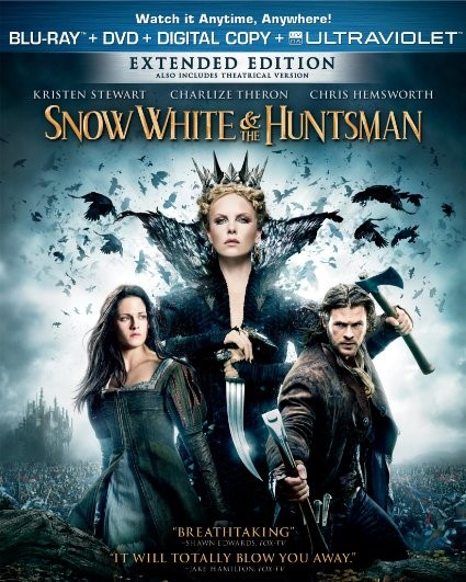BLU-RAY MOVIE Blu-Ray SNOW WHITE AND THE HUNTSMAN