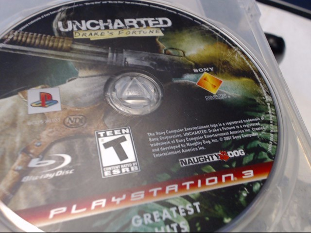 SONY PS3 UNCHARTED DRAKES FORTU